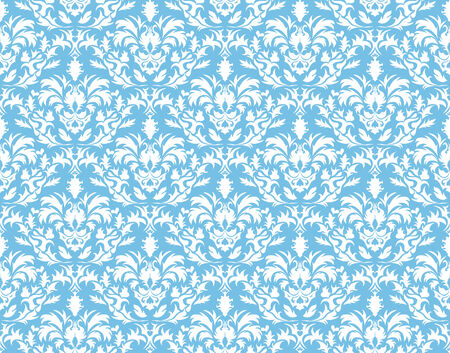 Abstract vector seamless damask background for design use Vector