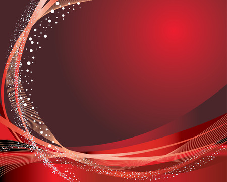 festal: Abstract vector festive background in red colors