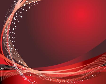 imagenes vectoriales: Resumen de vectores de fiesta en rojo los colores de fondo Vectores