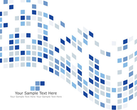 Abstract checked  business background for use in web design Stock Vector - 4839197