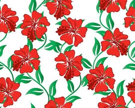 Flor de fondo perfecta para el diseño vectorial uso