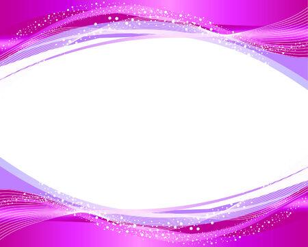Abstracte vector frame achtergrond met bellen spray