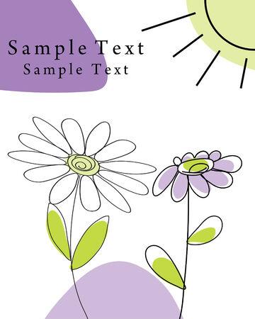 invitations card: Hand drawn infant card for design use Illustration