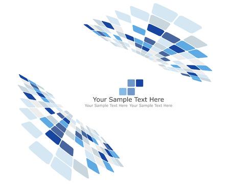 linee vettoriali: Abstract controllati sfondo per le imprese per l'uso in web design