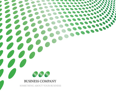 banner effect: Abstract dots business background for use in web design