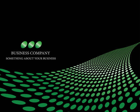 Abstract dots business background for use in web design Vector