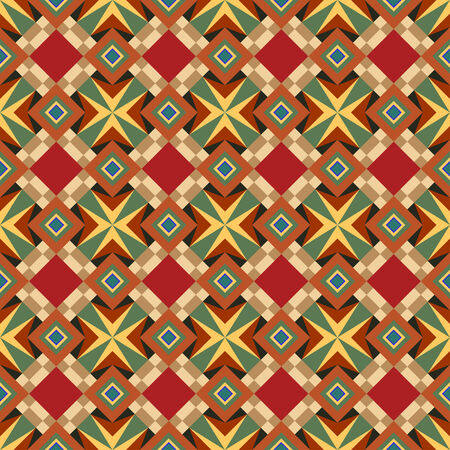 Abstract seamless vector parquet ornate background for design use Vector