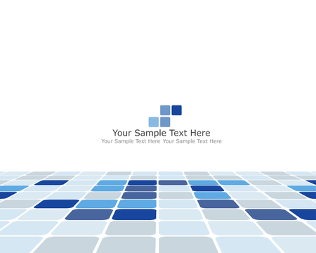 Abstract checked  business background for use in web design Stock Vector - 5212294