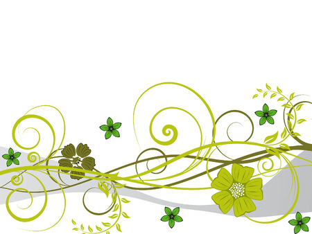 Hermoso floral vector uso para el diseño de fondo