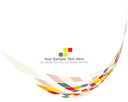 vector abstract: Vector illustration of abstract multicolor checked background