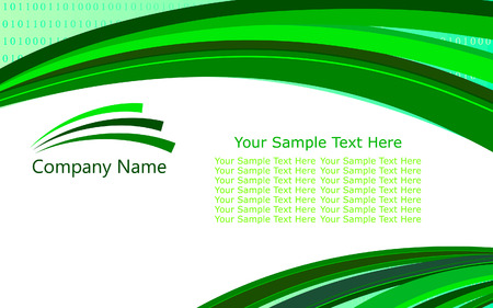 Abstract vector template background for design use Illustration