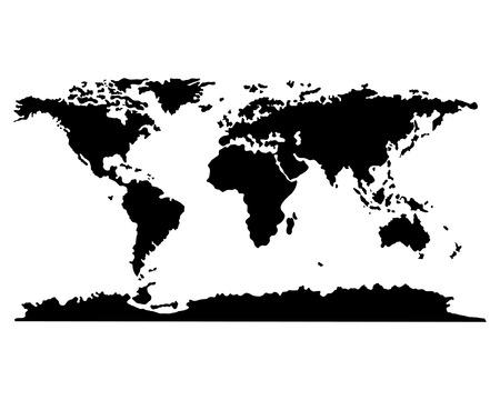 mapa de africa: Set de globos worls para el uso de dise�o