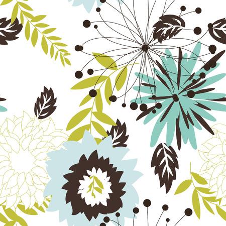 sketch pattern: Seamless vector background floral. Para facilitar la toma de patr�n sin apenas arrastran todo el grupo en muestras de bar, y utilizarla para rellenar los contornos.