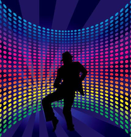 Nightclub dancer theme. Vector illustration for design use. Stock Vector - 5407306