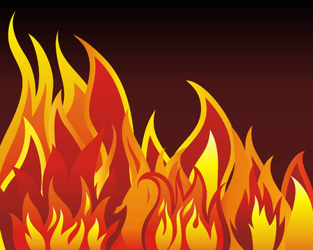 infierno: Vector Inferno fuego de fondo para el uso de dise�o