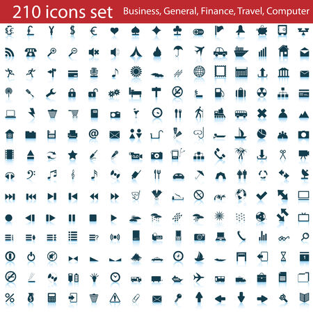 phone button: Biggest collection of different icons for using in web design
