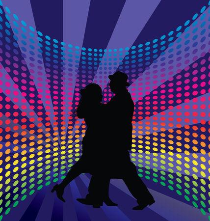 Dancer theme. Vector illustration for design use. Stock Vector - 5560054