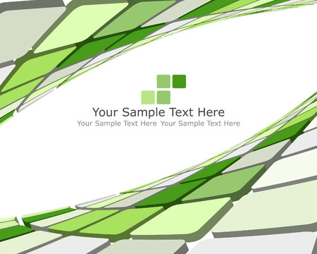 Abstract 3d checked  business background for use in web design Vector