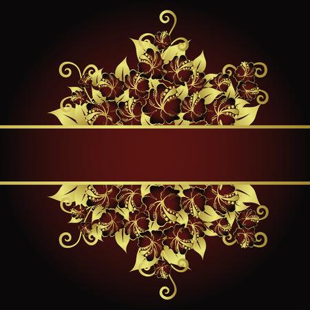 Floral background for design use. Vector illustration. Stock Vector - 5603150