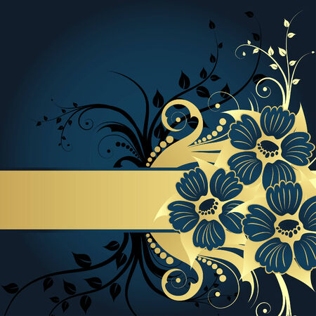 Floral background for design use. Vector illustration. Stock Vector - 5603133