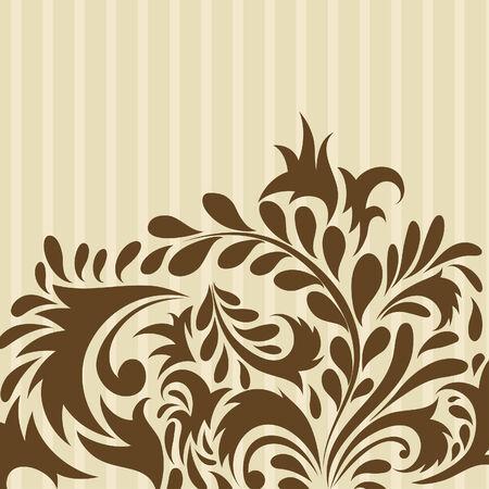 floral vector: Floral background for design use. Vector illustration. Illustration