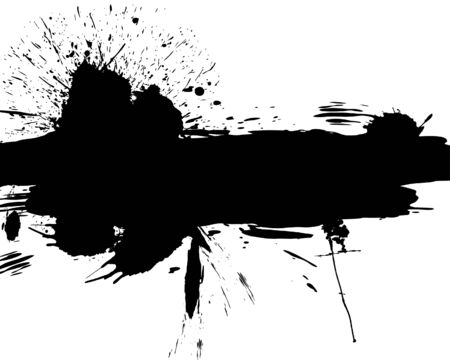 inky: Abstract grunge vector background for design use.