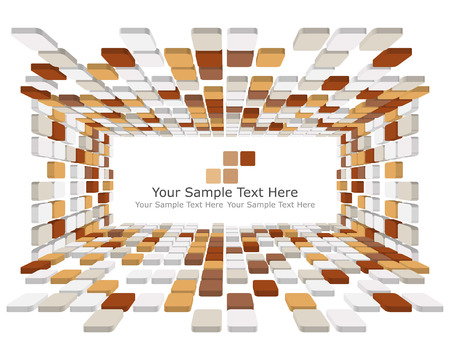Abstract checked  business background for use in web design Stock Vector - 5657505