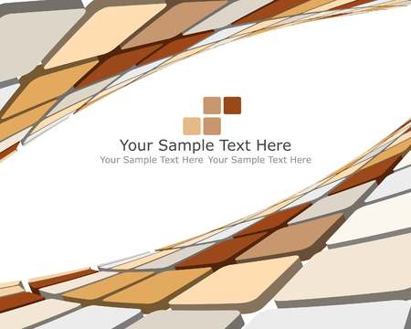 Abstract 3d checked  business background for use in web design Stock Vector - 5669416