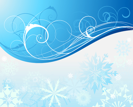 Beautiful vector Christmas (New Year) background for design use Vetores