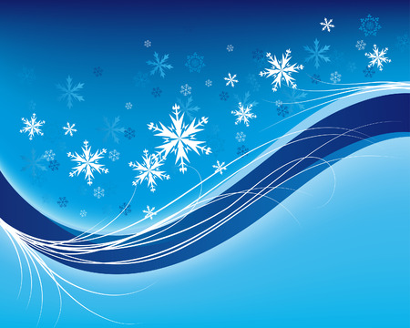 year curve: Beautiful vector Christmas (New Year) background for design use
