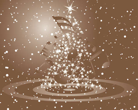 Beautiful vector Christmas (New Year) background for design use Stock Vector - 5698446