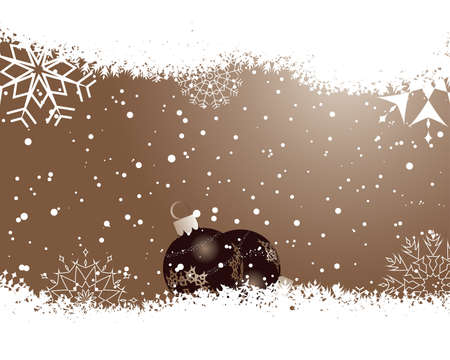 Beautiful vector Christmas (New Year) background for design use Stock Vector - 5698475