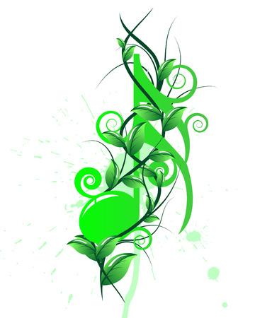 Vector note musicali background personale per usare il disegno