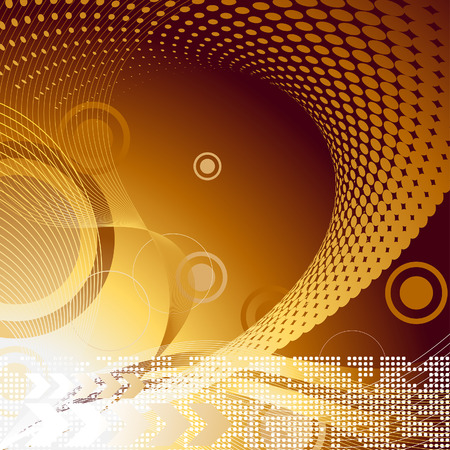 Abstract vector template background for design use Ilustracja