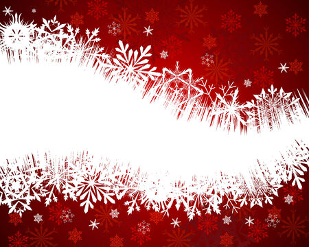 Beautiful vector Christmas (New Year) background for design use Stock Vector - 5735250
