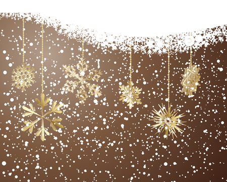 Beautiful vector Christmas (New Year) background for design use Stock Vector - 5735252
