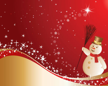 Beautiful Christmas (New Year) background for design use Stock Vector - 5788065