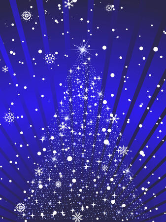 Beautiful vector Christmas (New Year) background for design use Stock Vector - 5804434