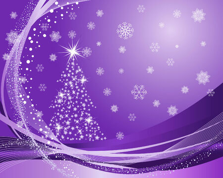Beautiful vector Christmas (New Year) background for design use Stock Vector - 5804439