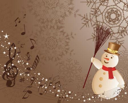 Beautiful wektorowej Boże Narodzenie (Nowy Rok) tła do wykorzystania projektu