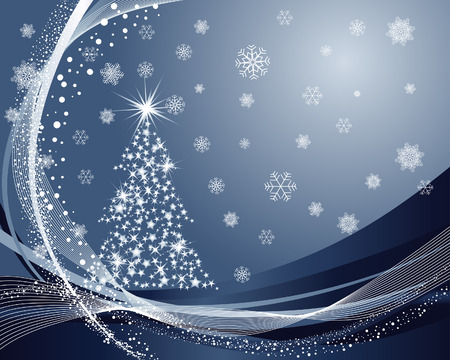 Beautiful vector Christmas (New Year) background for design use Stock Vector - 5837802