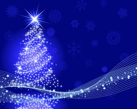 Beautiful vector Christmas (New Year) background for design use Stock Vector - 5910810
