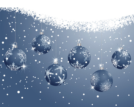 Beautiful vector Christmas (New Year) background for design use Stock Vector - 5935361