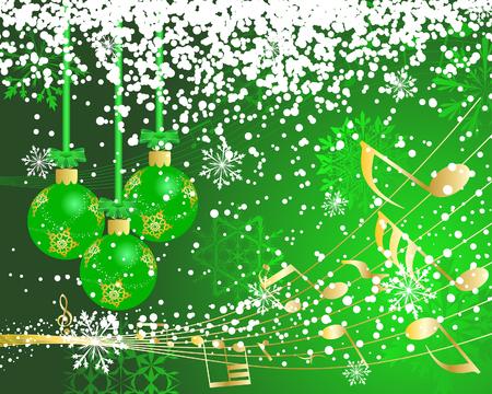 Prachtige vector Christmas (Nieuwjaar) achtergrond voor ontwerp gebruiken