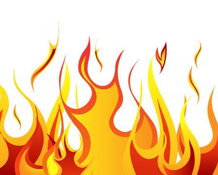 tiges: Arri�re-plan de vecteur de feu Inferno pour utilisation de conception