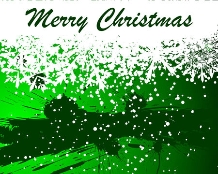 Beautiful vector Christmas (New Year) background for design use Stock Vector - 6021025