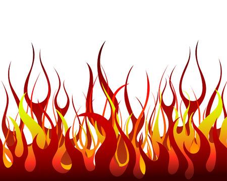 resplandor: Fondo de vector de fuego de infierno para uso de dise�o  Vectores