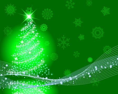 Beautiful vector Christmas (New Year) background for design use Stock Vector - 6052318