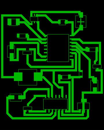 Electric scheme for design use. Vector illustration. Stock Vector - 6238047