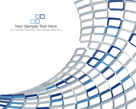 Fondo de negocio facturado 3d abstracta para su uso en diseño web